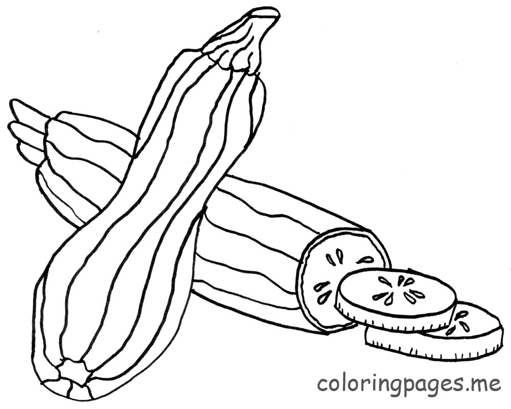 Zucchini clipart black and white image royalty free Zucchini clipart black and white - ClipartFest image royalty free