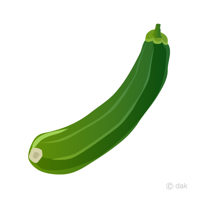 Zuccini clipart vector transparent library Zucchini Clipart Free Picture|Illustoon vector transparent library