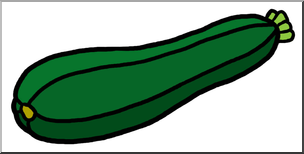 Zuccini clipart png transparent Clip Art: Zucchini Color I abcteach.com | abcteach png transparent