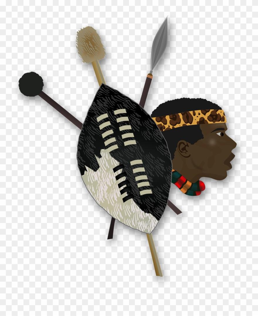 Zulu shield clipart clip art transparent library Folklore Shield Africa African Png Image - Zulu Warrior ... clip art transparent library