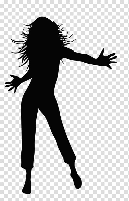 Zumba clipart transparent vector library stock Silhouette of woman illustration, Dance Silhouette Drawing ... vector library stock