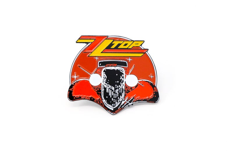 Zztop eliminator frontview clipart graphic transparent ZZ Top   Rockin Pins graphic transparent