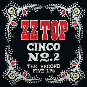 Zztop eliminator frontview clipart image free download ZZ Top - Cinco No. 2 (The Second Five LPs) (2018, Vinyl ... image free download