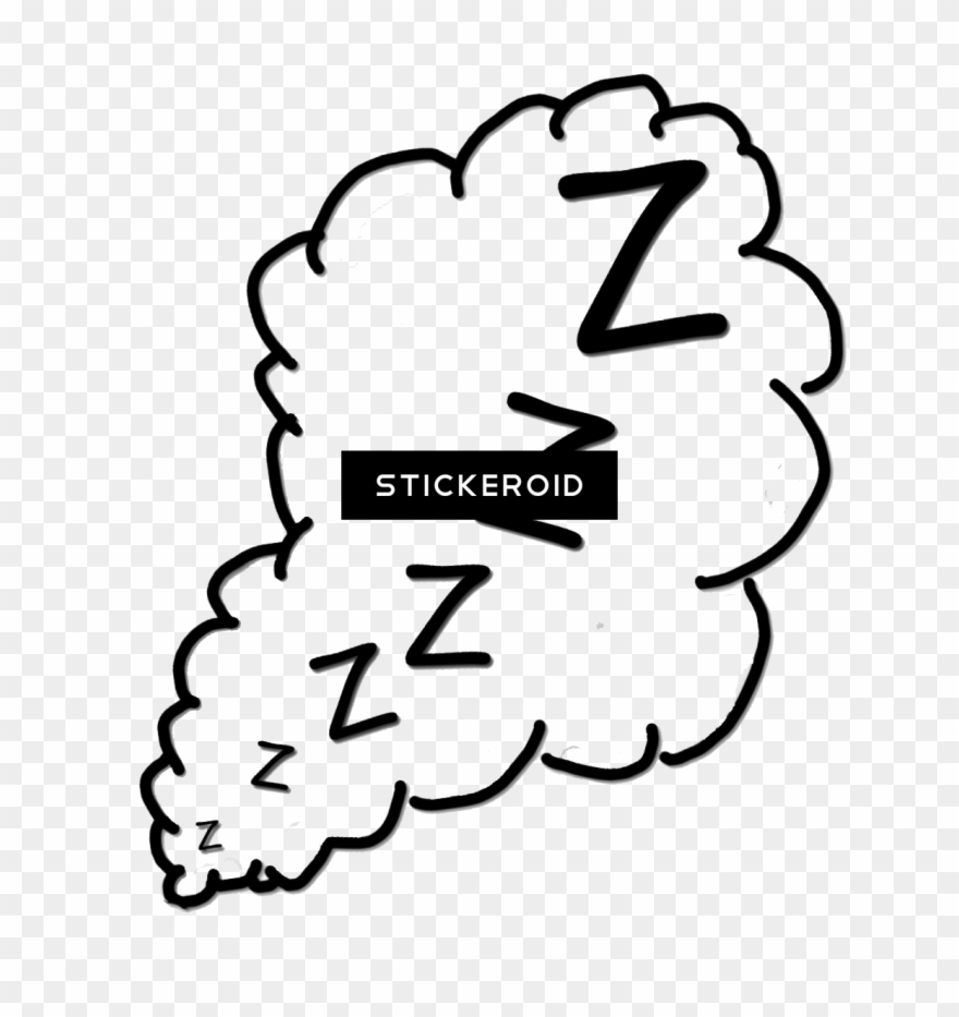 Zzzz clipart black and white jpg black and white stock Zzz Sleepy Slepz Zzzz - Snoring Clipart Black And White ... jpg black and white stock