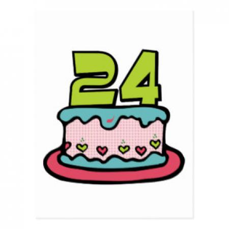 Miraculous Library Of 24Th Birthday Graphic Black And White Download Personalised Birthday Cards Veneteletsinfo