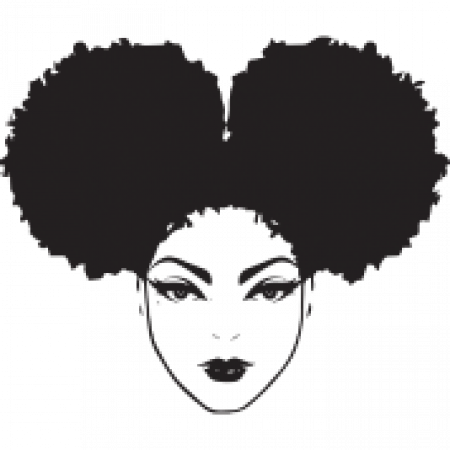 Black girl afro png